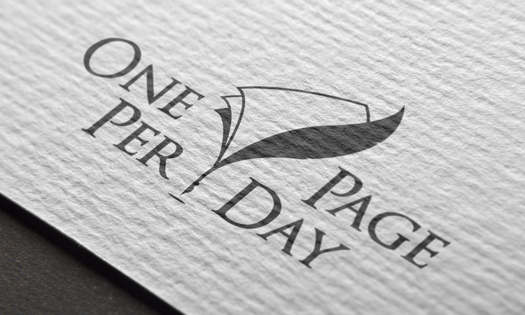 logo one page per day 04